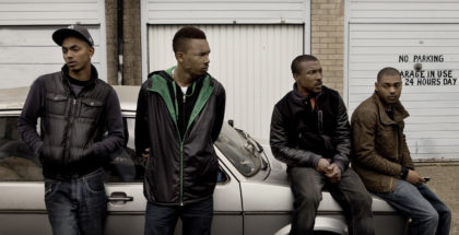 (l-r): Tareek (Sean Sagar), Dris (Shone Romulus), Dushane (Ashley Walters) & Sully (Kane Robinson). This picture may be used solely for Channel 4 programme publicity purposes in connection with the current broadcast of the programme(s) featured in the national and local press and listings. Not to be reproduced or redistributed for any use or in any medium not set out above (including the internet or other electronic form) without the prior written consent of Channel 4 Picture Publicity: picturepublicity@channel4.co.uk