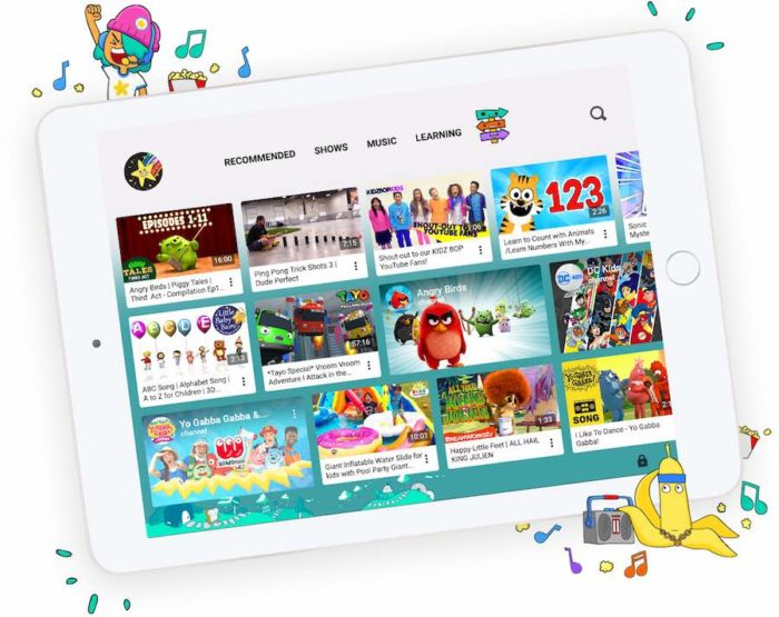 YouTube Kids adds user profiles amid revamp
