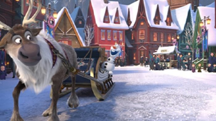 Olaf's Frozen Adventure available on Sky Cinema and NOW TV in the UK