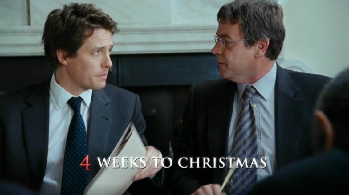 love actually 4 weeks