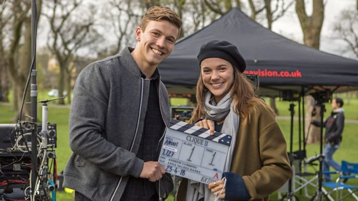 Clique Season 2 begins filming in Edinburgh