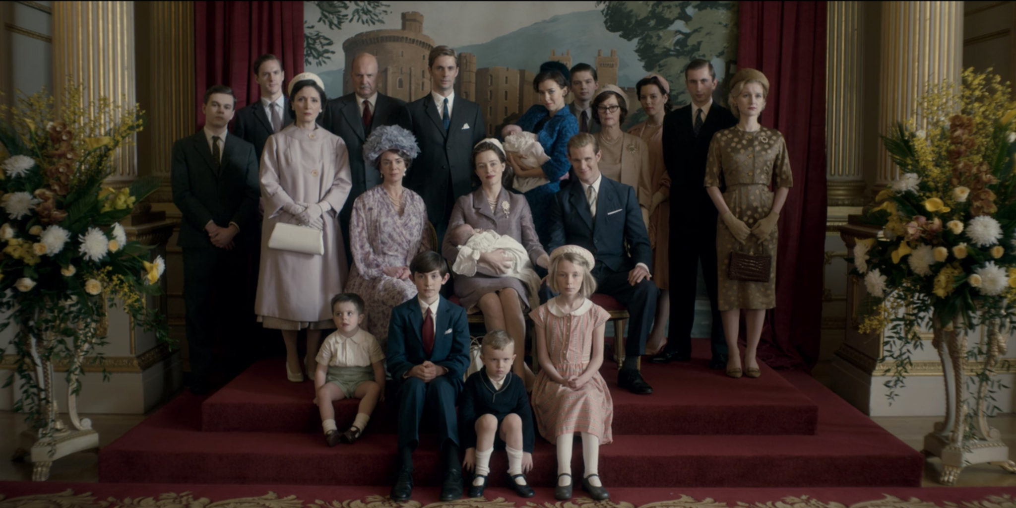 the crown family photo