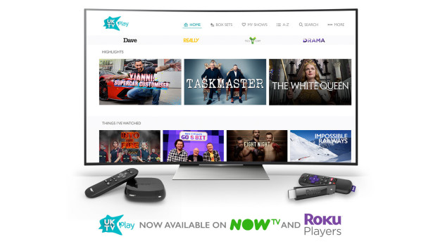 UKTV Play launches on Roku and NOW TV devices