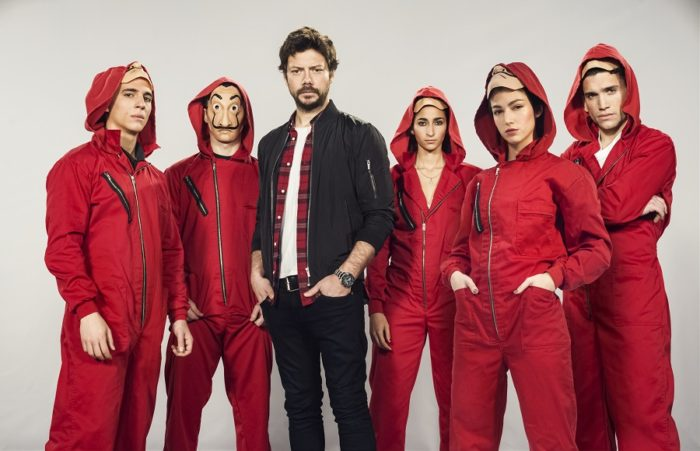 Netflix inks overall deal with La Casa de Papel creator