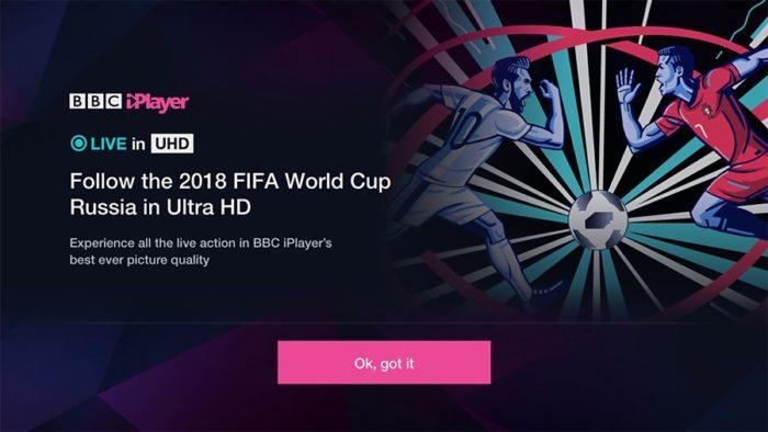 "BBC iPlayer hails 4K World Cup ""a success"""
