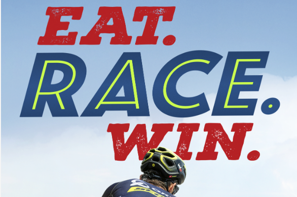 Trailer races online for Amazon s EAT. RACE. WIN.  b866d2efe