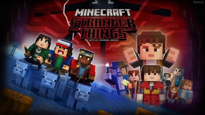 Netflix teams up with Telltale for Stranger Things game and Minecraft series