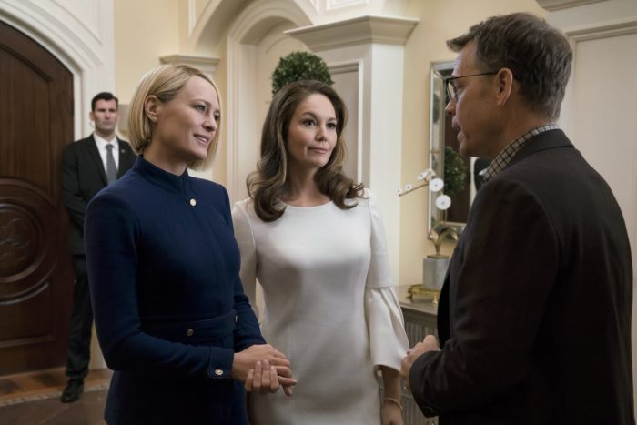 First look: Diane Lane and Greg Kinnear in House of Cards Season 6