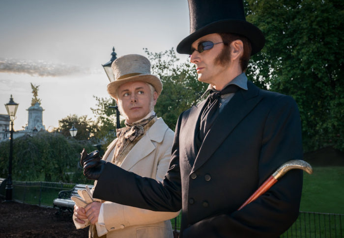 Watch: David Tennant sing a lullaby in new Good Omens clip