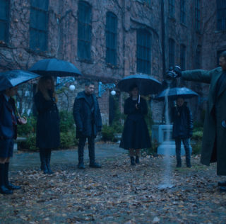 First look Netflix UK TV review: The Umbrella Academy