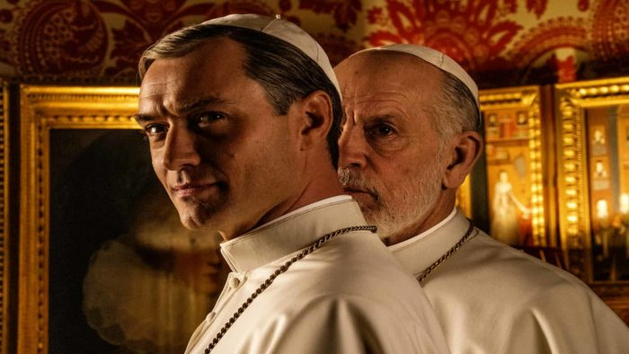 First look: Jude Law in HBO's The New Pope