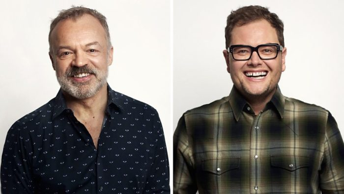 Graham Norton and Alan Carr will be judges on RuPaul's Drag Race UK