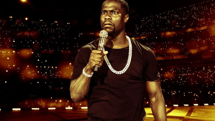 Irresponsible: Kevin Hart heads to Netflix this April