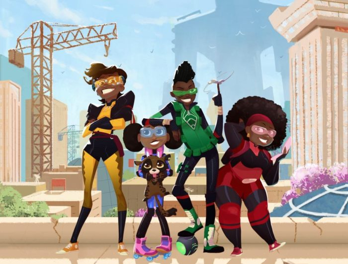Mama K's Team 4: Netflix orders first African animated series