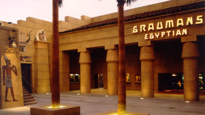 Netflix in talks to buy Hollywood's Egyptian Theatre
