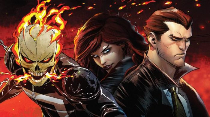 Marvel's Ghost Rider and Helstrom head to Hulu