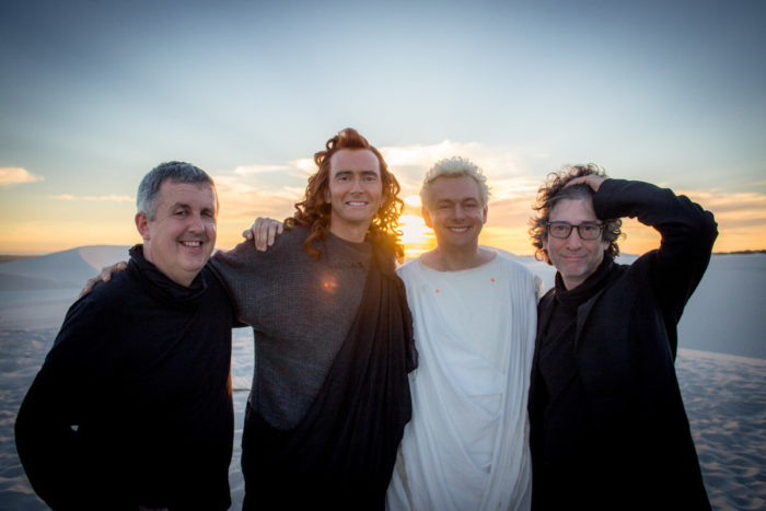 Interview: Neil Gaiman and Douglas Mackinnon talk Good Omens, Terry Pratchett and Amazon