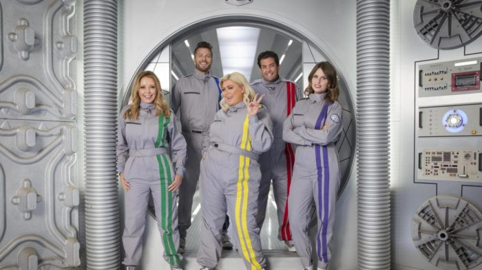 Gemma Collins, Vic Reeves, Steve Pemberton lead celebrities into The Crystal Maze