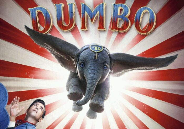 Dumbo flies to Number 1 in UK's Official Film Chart