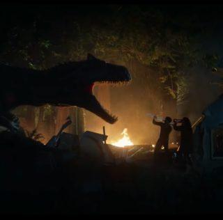 Battle at Big Rock: New Jurassic World short stomps online