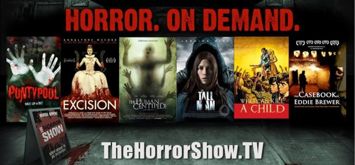 The Horror Show VOD service launches this Thursday