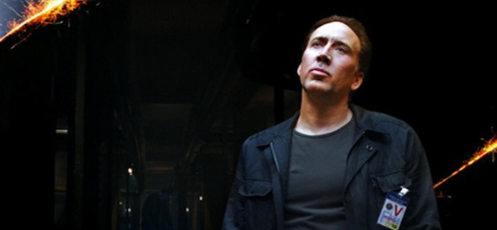 What is Nic Cage thinking about on the Stolen DVD menu?