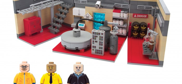 Actual things that actually exist: Breaking Bad LEGO set