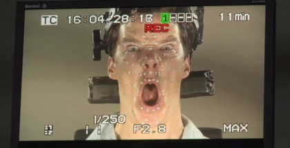 Benedict Cumberbatch Smaug face - The Hobbit - iTunes Extras
