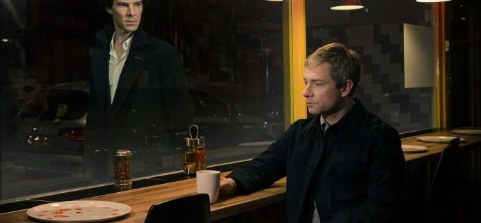 First image of Benedict Cumberbatch and Martin Freeman in Sherlock Season 3