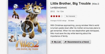 little brother big trouble netflix - christmas movie - review