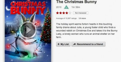 netflix - review - the christmas bunny