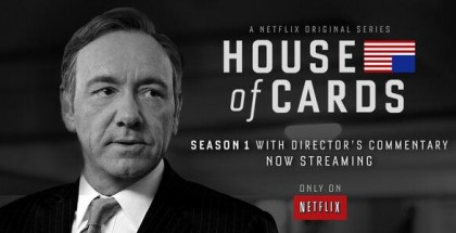 house of cards directory commentary - Netflix