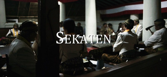 Straight-to-VOD Thursday: Sekaten (a documentary by Matt Dunning)