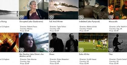 Raindance VOD service indie films