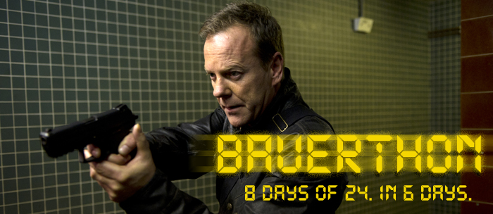 Bauerthon: A live blog marathon of all 8 seasons of 24. In 6 days.