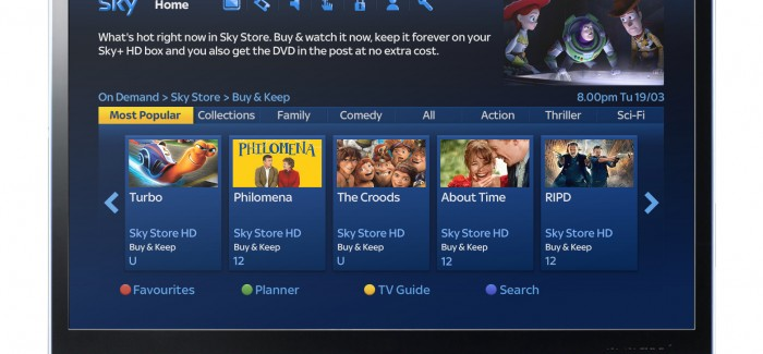 Sky Store introduces buy to keep movie downloads… and DVDs by post?