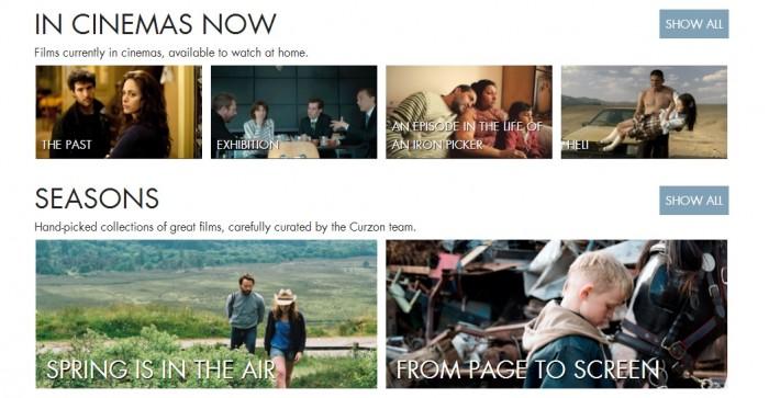 Curzon re-launches Curzon Home Cinema