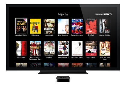 NOW TV Movies and Entertainment Pass join Apple TV