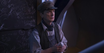 Doctor Who Episode 8 Frank Skinner