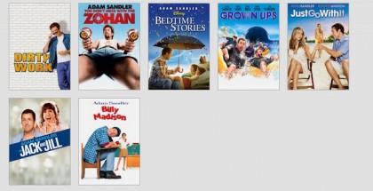 Adam Sandler movie generator
