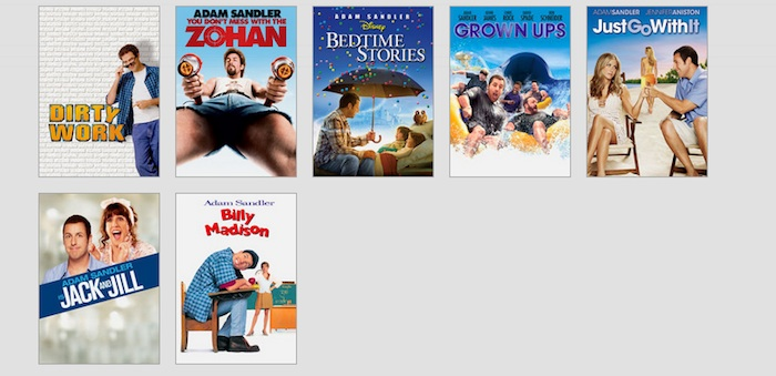 The Adam Sandler Movie Generator: the secret to Netflix's success?