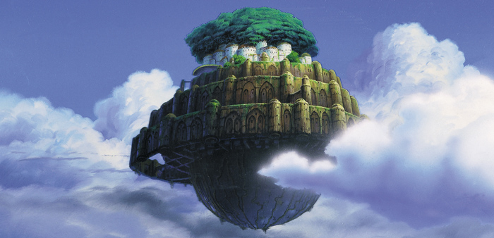 Tension and balance: Environmental optimism and Laputa: Castle in the Sky