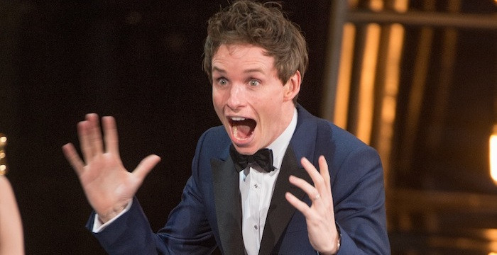 9 reaction GIFs from the 2015 Oscars