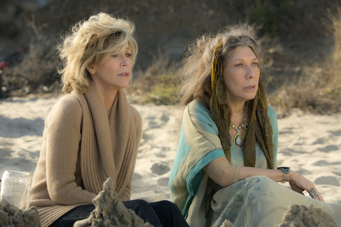 Netflix releases first look images for Grace and Frankie