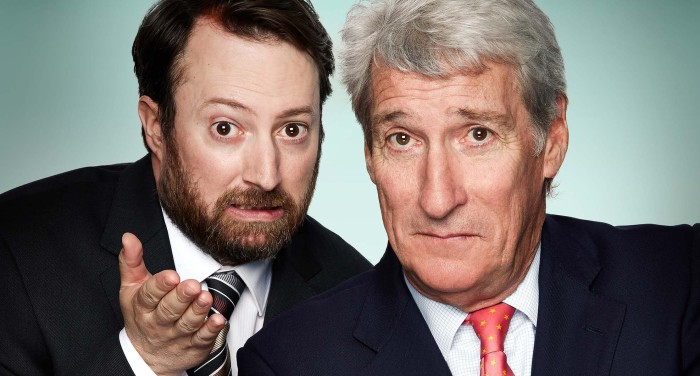 Jeremy Paxman and David Mitchell to host Channel 4's alternative election night
