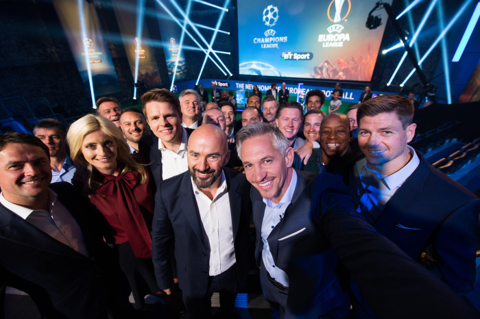 BT offers UEFA Champions League and Europa League free to BT TV customers