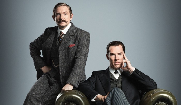 BBC releases clip and photo from Sherlock special
