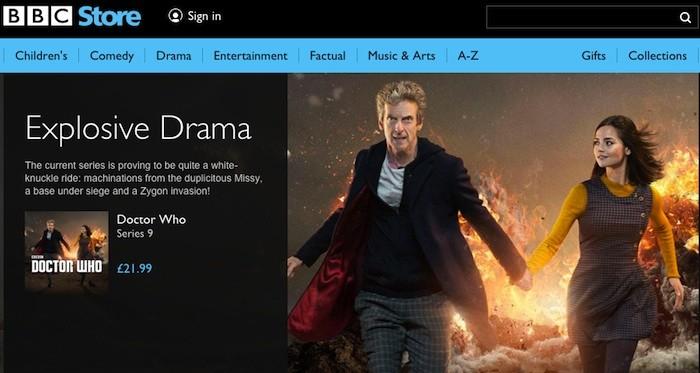 BBC launches online BBC Store