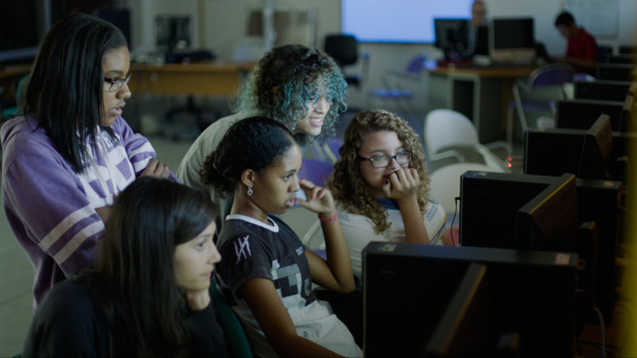 Codegirl documentary available to watch online for free this week on YouTube
