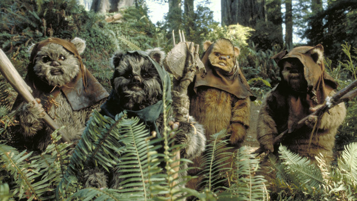 The Force is strong with… Star Wars: Episode VI's Ewoks